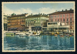 Fiume - Porto Idroscalo - Hydroplane - Rip. Ris. R. Radici ------ Postcard Not Traveled - Croazia