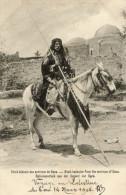 GAZA Environs (Palestine) Type De Cheik Bedouin à Cheval Gros Plan - Palestine