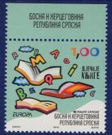 PIA -  BOSNIA  SERBA - 2010 : Europa  (Yv  460-61) - Europa-CEPT
