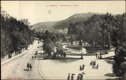Cp Épinal Vosges, Promenade Du Cours, Les Passants - France