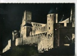 CP11268 - CARCASSONNE - Vue De Nuit Sur La Cité - Carcassonne