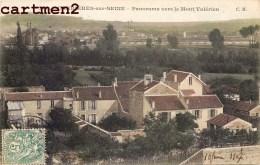 CARRIERES-SUR-SEINE PANORAMA VERS LE MONT VALERIEN 78 YVELINES - Carrières-sur-Seine