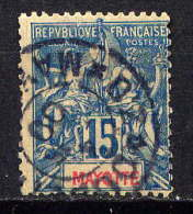 MAYOTTE - N° 6° - TYPE GROUPE - Used Stamps