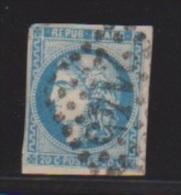 20 Centimes Bleu //  Cachet 2145  //  Lyon - 1870 Siege Of Paris
