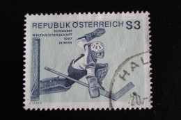Autriche - Championnat De Hockey - Année 1967 - Y.T. 1069 - Oblitéré - Used - Gestempeld - 1945-.... 2nd Republic