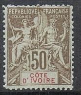 COTE-D'IVOIRE N°17 N** Fournier - Costa D'Avorio (1892-1944)
