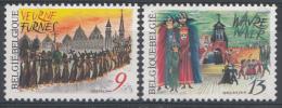 BELGIQUE Mi.nr.:2301-2302 Folklore 1987 Neuf Sans Charniere / Mnh / Postfris - België