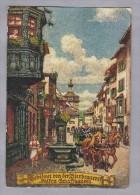 Motiv Bier  Bierbrauerei FALKEN Schaffhausen 1948.II.4. - Cartes Postales