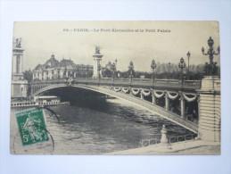 5 C  Vert  Semeuse  Perforé  P V  Sur Carte Postale   1913 - Perfin