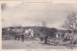 23607 Moissac - Boulevard Pierre Delbrel - Les Grandes Innondations Du Midi - 1930 - Ed 10 Bouzin Toulouse - Catastrophe