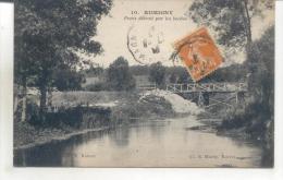 Rumigny, Ponts Détruits Par Les Boches - France