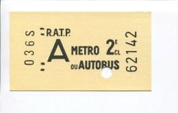 CARTE POSTALE ANNEES 1960 1970 EN FORME TICKET METRO GEANT  RATP AUTOBUS  SERIE SHOPPING 31 PUBLISTAR PARIS 11 - Métro