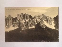 VISTA DAL GRUPPO DEL LATEMAR  DAL RENON NON VIAGGIATA S - Bolzano (Bozen)