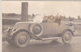 23609 Carte Photo - Voiture Ancienne Vieille Automobile -renault Modele NN 1925 Ou 1926 6 Cv Torpedo