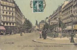 Transports - Métro - Bouche Station De Métro Parisien République - Correspondance Villa Latécoère Bagnères De Bigorre - Métro