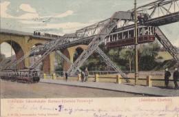 Allemagne - Sonnborn Elberfeld -  Train / Métro /Architecture - Postal Marks 1903 - Wuppertal