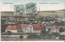 CHATEAU SALINS  20620 GESAMTANICHT VUE GENERALE 1914 - Chateau Salins