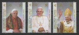 Vatican (2005) Yv. 1380/82  /  Pope Benedict XVI - Ratzinger - Papst Benedikt - Pausen