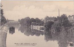 23614 VERDUN LA MEUSE ET LA PROMENADE DE LA DIGUE   -150 Trefle MITL - Peniche - Verdun