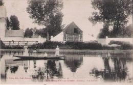 BETHENCOURT SUR SOMME (SOMME) 17 LA SOMME (FEMME ET ENFANTS SUR UNE BARQUE)  1904 - France