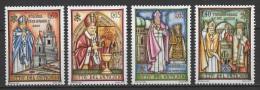 Vatican (2007) Yv. 1446/49  /  Pope - Papa - John Paul II - Voyages - Travel - Pausen