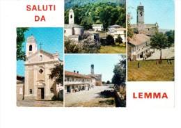 CARTOLINA SALUTI DA LEMMA  -  ROSSANA (CUNEO) - Italie