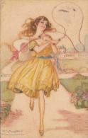 MAUZAN  SIGNORINE   248-7    VIAGGIATA 1918  Con Verifica Di Censura - Illustrateurs & Photographes