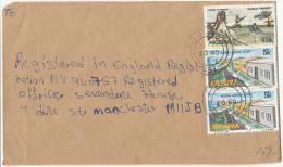 Nigeria Cover Sent To England - Nigeria (1961-...)