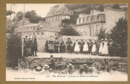 RIEC Sur BELON - 256 - Fête Bretonne - Costume De RIEC Sur BELON - écrite 1916 - COSTUME - BRETAGNE - France