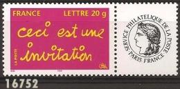 2005 - YT 3760A ** - Val. Cat:: 4.00 Eur. - Sellos Personalizados