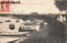FRENEUSE EN PROMENADE AU BORD DE LA SEINE 78 YVELINES - Freneuse