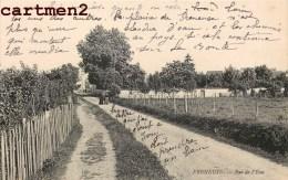 FRENEUSE LA RUE DE L'EAU 78 YVELINES - Freneuse