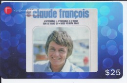 Claude François - 276938 Hongkong Télécom - Musique