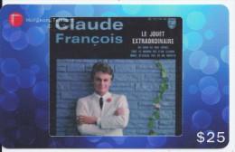 Claude François - 937206 Hongkong Télécom - Musique