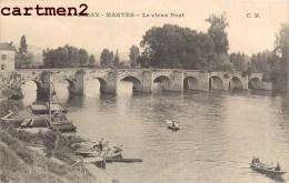 4 CPA : LIMAY RUE DES FOSSES L'EGLISE LE VIEUX PONT 78 YVELINES - Limay