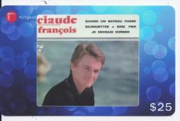 Claude François - 221709 Hongkong Télécom - Musique