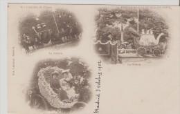 Madrid.Fiesta Reales De 1902. Batalla De Flores. - Madrid