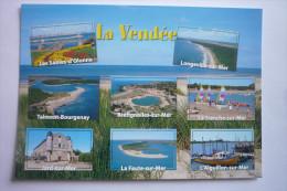 Vendee - Sables D'olonne-longeville-talmont-bourgeney-bretignolles-la Tranche-jard-la Faute-l'aiguillon ( 2 Scann ) - France
