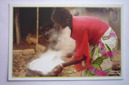 Mali ( N°67 : Le Riz Est Cuit - Malokini Mona - Ho Mi Bo ( Solidarite - Mouvements - B.p 298 - Bamako - Mali ( 2 Scann ) - Mali
