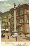 Firenze      PIAZZA S. TRINITA'    1910--- ANIMATA - Firenze