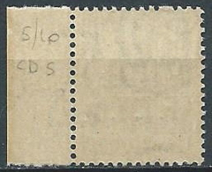 1947-48 TRIESTE A DEMOCRATICA 50 CENT FILIGRANA LETTERA MNH ** - FL01 - Ungebraucht