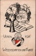 ! 1920 Alte Ansichtskarte Plauen , Studentenkarte, Sachsen, Burschenschaft, Studentika, Studentenverbindung, Verein - Plauen
