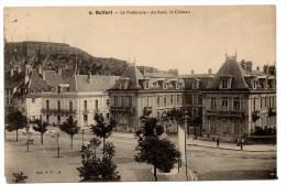 CP, 90, BELFORT, La Préfecture, Au Fond Le Château, écrite, Voyagé En 1914 - Belfort – Siège De Belfort