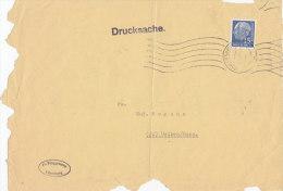 BRD 184 X EF, Briefstück, Drucksache, Stempel: Lüneburg 6.1.1961 - BRD