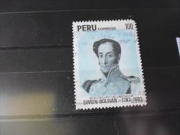 PEROU TIMBRE OU SERIE COMPLETE  OBLITERE   YVERT N° 764 - Peru