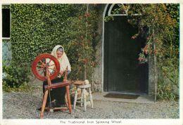 Traditional Irish Spinning Wheel, Ireland Postcard Cardall - Other