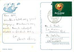 Funchal, Madeira, Portugal Postcard Used Posted To UK 2004 Nice Stamp - Madeira