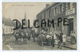 CPA - Thiant Rue De L'Eglise - Unclassified