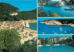 Cala Galdana, Menorca, Spain Espana Postcard Used Posted To UK 1989 Stamp - Menorca