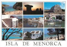 Menorca, Spain Espana Postcard Used Posted To UK 1999 Stamp - Menorca